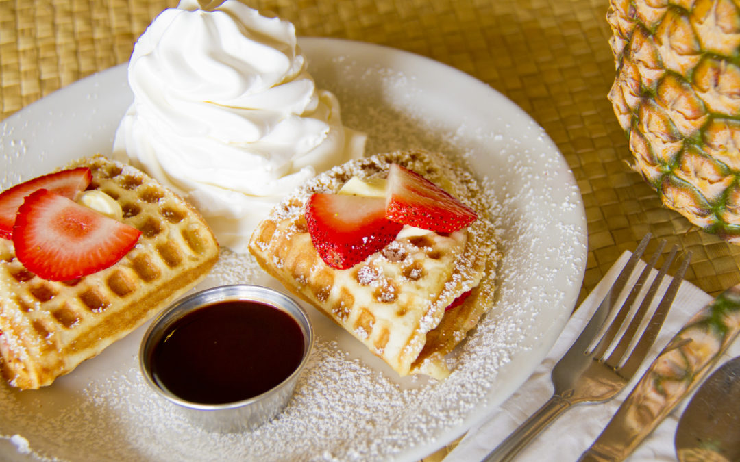 Favorite item 2: Strawberry cheesecake waffle fold