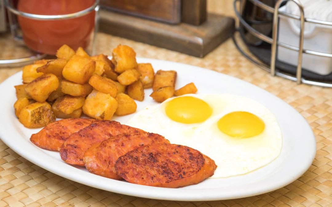 Portuguese Sausage & Eggs